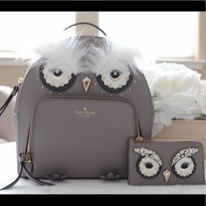 Kate Spade Owl Backpack